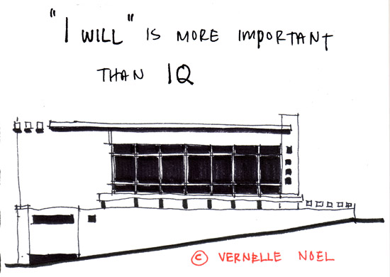 I Will and IQ, thinking insomniac, vernelle noel, abstract architecture