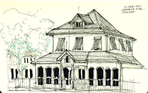 restaurant, caribbean architecture, thinking insomniac, vernelle noel, port of spain, trinidad